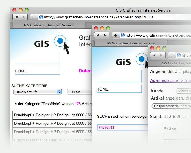 GiS - Grafischer Internet Service
